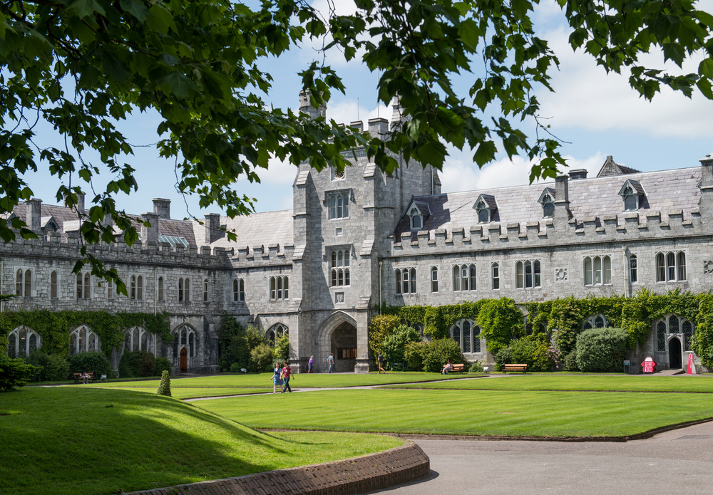University College Cork (UCC), Peter O'Toole, Shutterstock